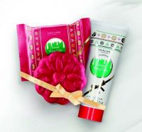 Frosted Berry Cake Soap Bar & Hand Cream