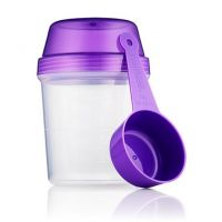 Purple Shaker and Scoop