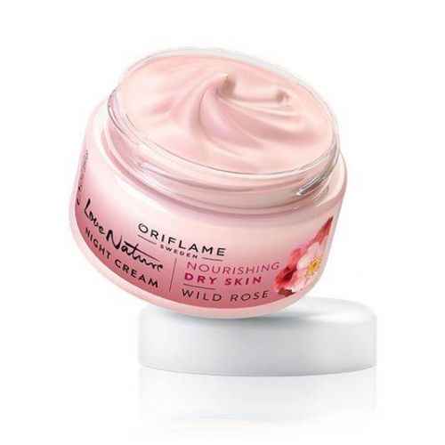 Love Nature Night Cream Wild Rose