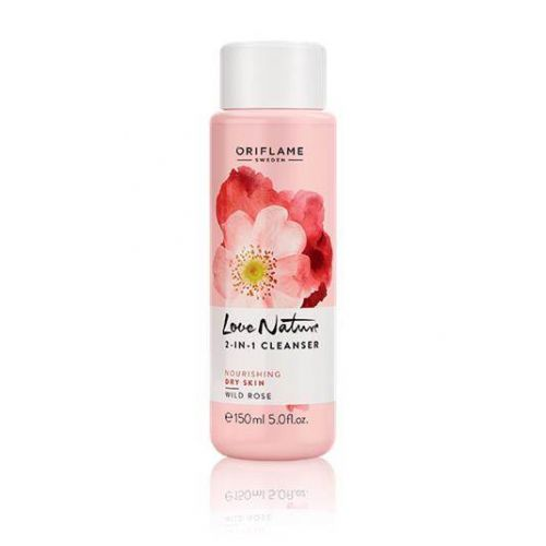 Love Nature 2-in-1 Cleanser Wild Rose