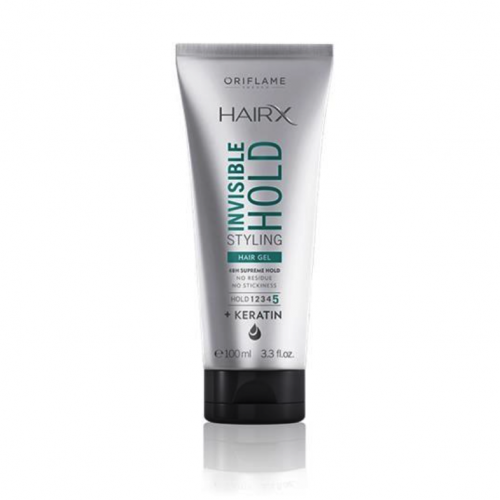HairX Invisible Hold Styling Hair Gel