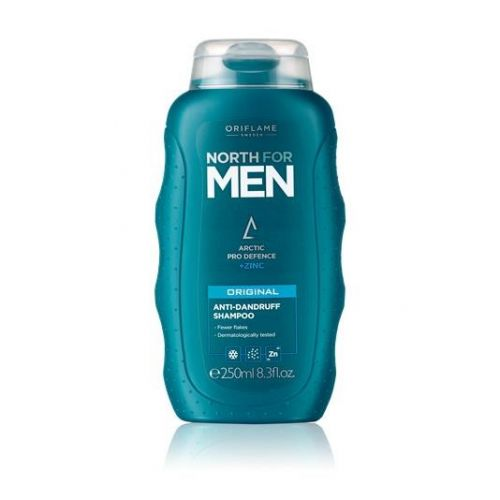 North for Men Original Anti- Dandruff Shampoo