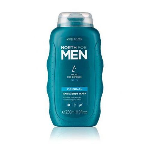 North for Men Original Hair & Body Wash