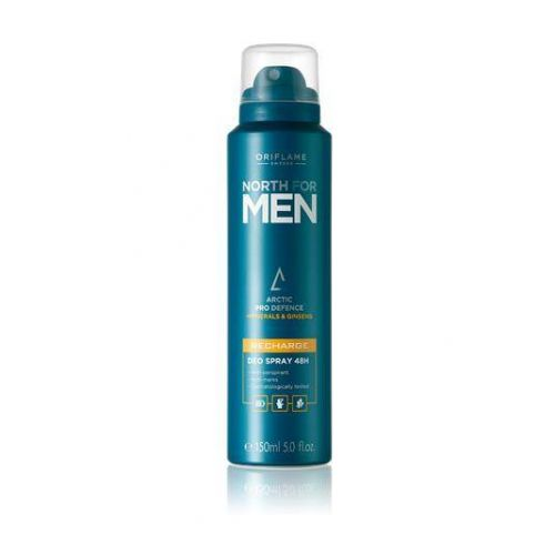 ***NORTH FOR MEN Recharge Deo Spray 48H