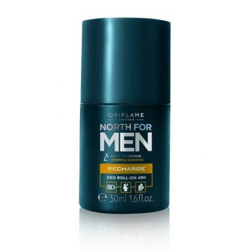 North for Men Recharge Deo RollOn 48H