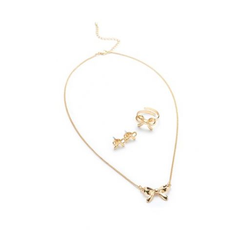 To You Bow Jewellery Set