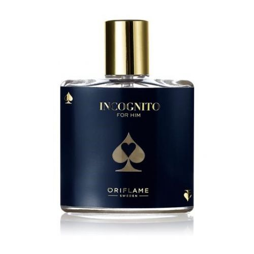 Incognito for him Eau de toilette