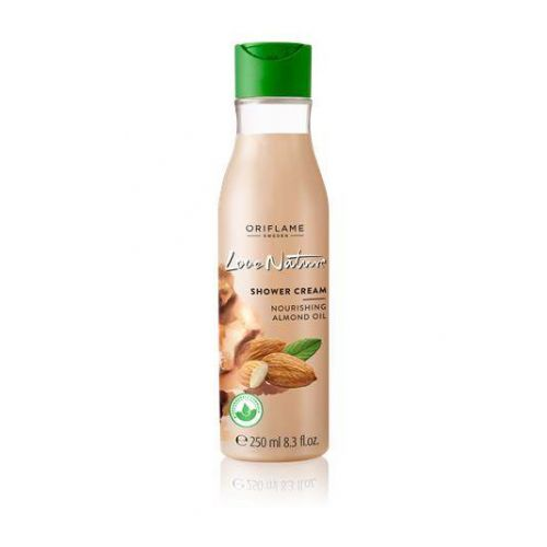 Love Nature Shower Cream Nourishing Almond Oil