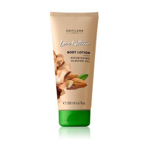 Love Nature Body lotion Nourishing Almond Oil