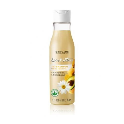 2in1 Shampoo for All hair types with Avocado & Chamomile