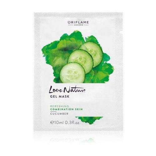 Love Nature Gel Mask Cucumber