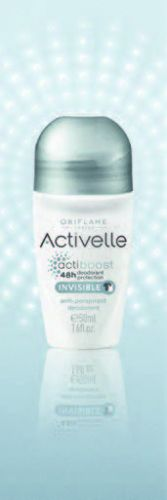 Activelle Anti-perspirant 24h Deodorant Invisible