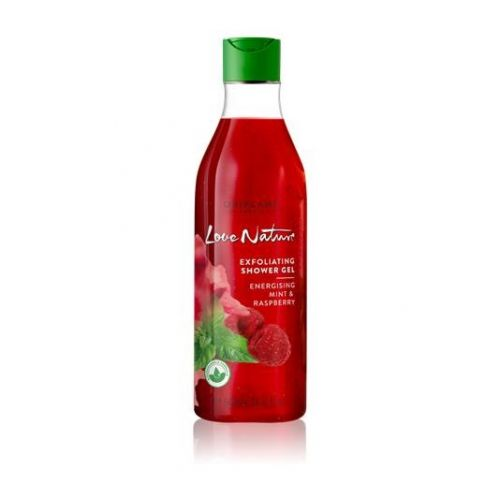 Exfoliating Shower Gel Energising Mint & Raspberry 500ml