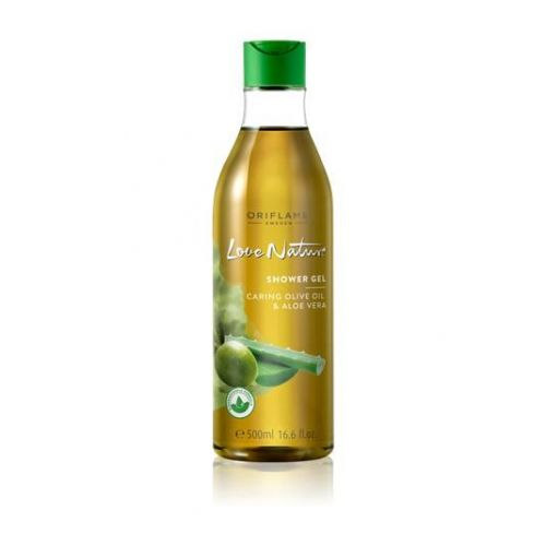 Shower Gel Moisturising Olive Oil & Aloe Vera JUMBO 500ml