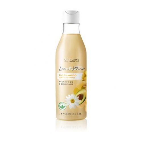 Love Nature 2in1 Shampoo for All Hair Types Avocado Oil & Chamomile