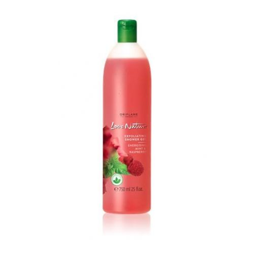 Exfoliating Shower Gel Energizing Mint & Raspberry JUMBO 750ml