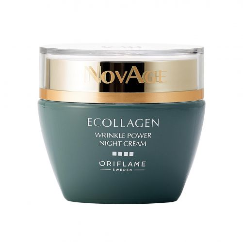 NovAge Ecollagen Wrinkle Power Night Cream
