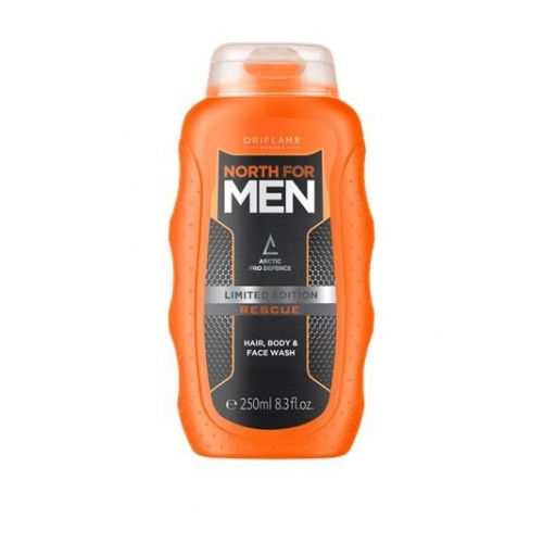 North for Men Rescue Hair, Body & Face Wash