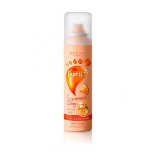 Feet Up Summer Cooling Orange Water Foot spray