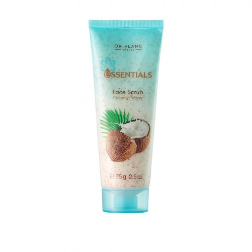 Essentials Face Scrub Coconut Water