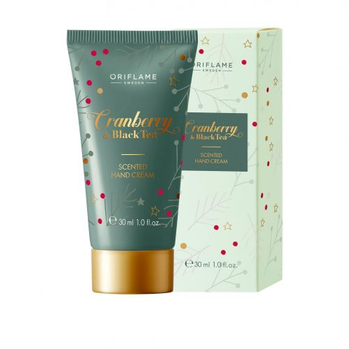 Cranberry & Black Tea Scented Hand Cream