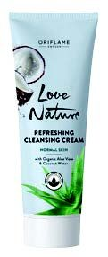 Love Nature Refreshing Eye Gel with Organic Aloe Vera & Coconut Water