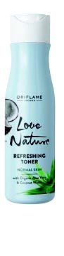 Love Nature Refreshing Toner with Organic Aloe Vera & Coconut Water