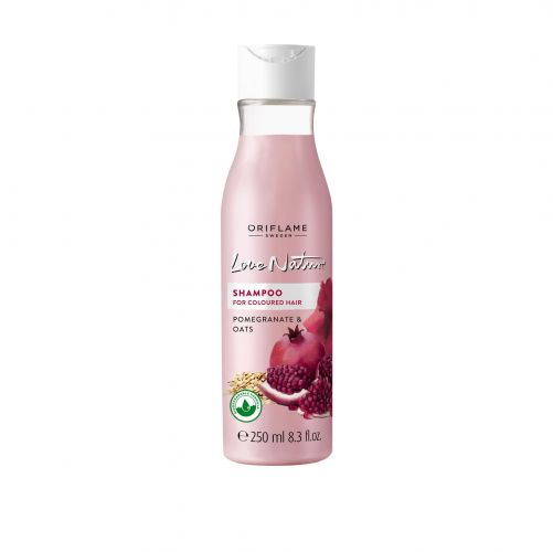 Love Nature Shampoo for Coloured Hair Pomegranate & Oat