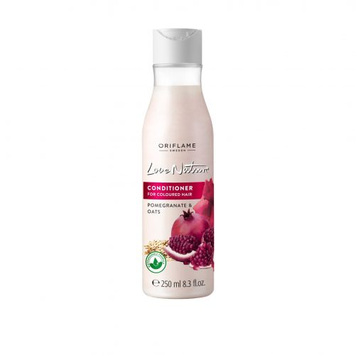 Love Nature Conditioner for Coloured Hair Pomegranate & Oats