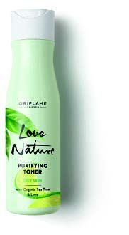 Love Nature Purifying Toner with Organic Tea Tree & Lime