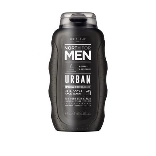 North For Men Urban Hair, Body & Face Wash