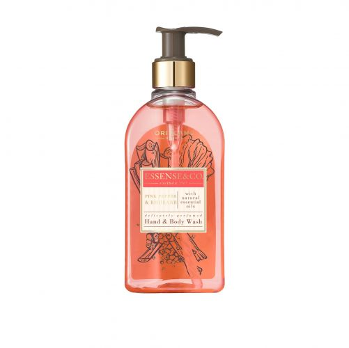 Essense&Co. Pink Pepper & Rhubarb Hand & Body Wash