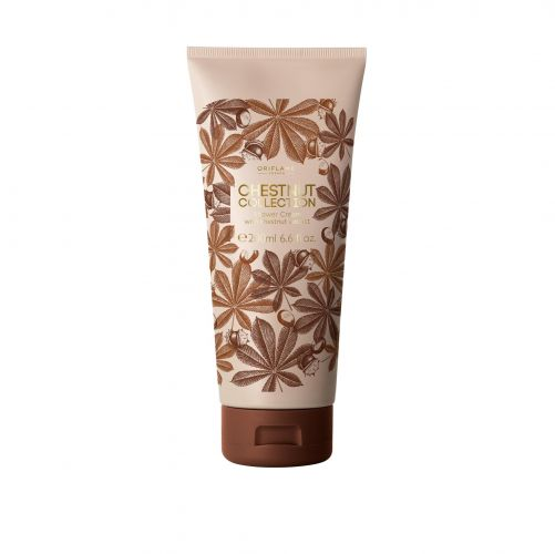 Chestnut Collection Shower Cream with chestnut extract