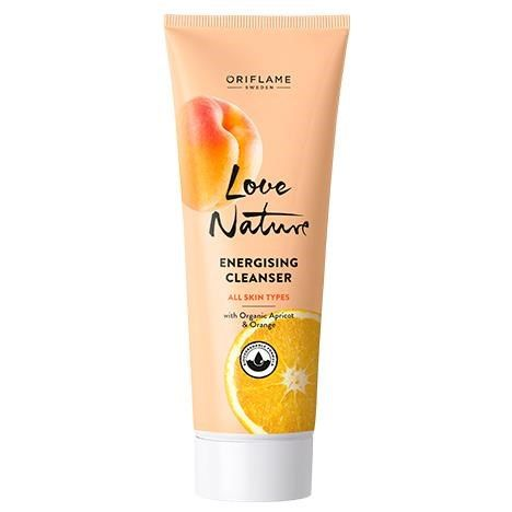 Love Nature Energising Cleanser with Organic Apricot & Orange