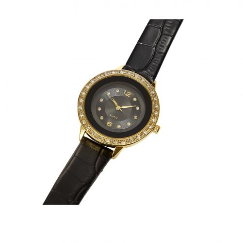 Sharing Crystal Case Watch