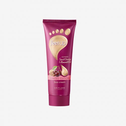 Feet Up Soothing Sweet Cherry & Almond Oil Foot Cream