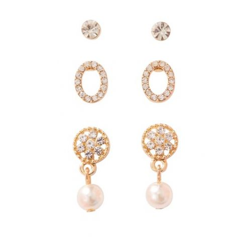 Amore 3 Pack Earring Set