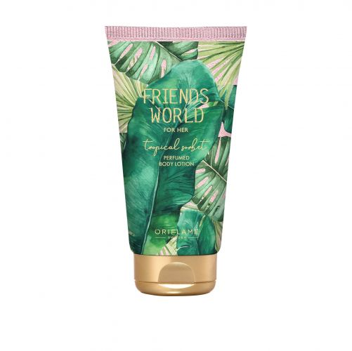 Friends World for Her Tropical Sorbet Perfumed Body Lotion