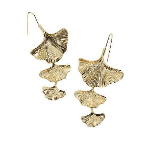 Saga Ginko Earrings