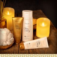 50th Anniversary Milk & Honey Gold set