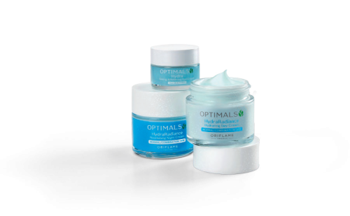 Optimals Hydra Radiance Nourishing Day & Night Cream With Seeing is Believing