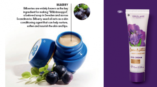 Tender Care Protecting Balm with Bilberry Seed Oil & Eye Cream