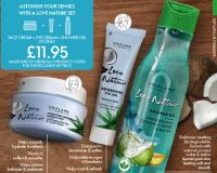 Love Nature with Organic Aloe Vera & Coconut Water Set
