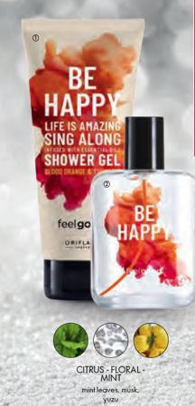 Be Happy Shower Set