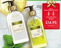 SET OF 2 LEMON & VERBENA PRODUCTS