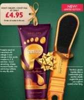 Feet Up Nourishing Pumpkin Seed Oil Foot Cream Set