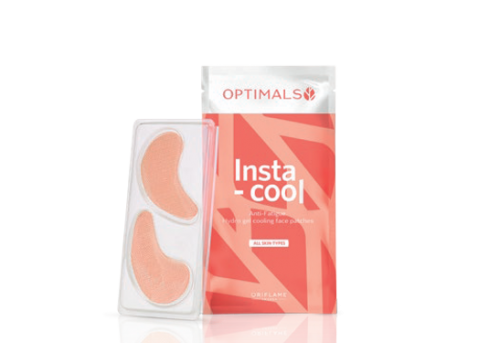 Optimals Insta-cool Antifatigue Hydro Gel Cooling Face Patches