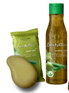 Love Nature Olive Oil & Aloe Vera Set