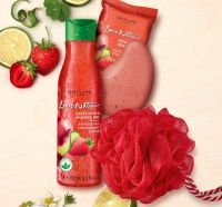 Love Nature Energising Mint & Raspberry Set
