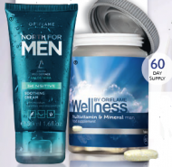 Mens Wellness & North for Men Sensitive Soothing Cream